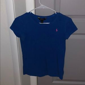 Blue Polo Ralph Lauren T-Shirt